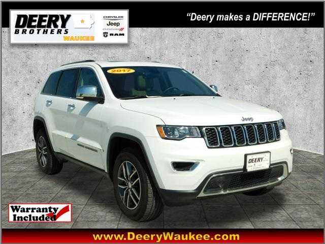 Jeep Certified Pre-Owned >> Certified Pre Owned 2017 Jeep Grand Cherokee Limited 4d Sport