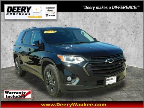 Pre-Owned 2019 Chevrolet Traverse RS
