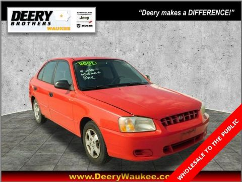 Pre-Owned 2001 Hyundai Accent GL